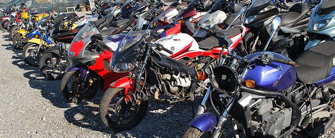 Мотоциклети втора употреба, части втора употреба
